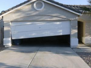 Garage Door Out of alignment